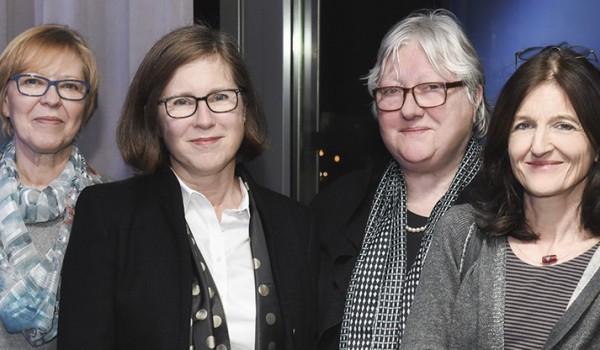 v. links: R. Zindler, B. Möckel, A. Neuhaus-Theil, S. Specht